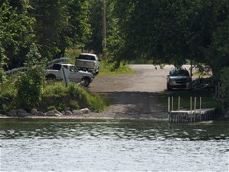 green lake boat launch michigan burt lake greenman point fishing boating inland waterway
