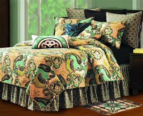 C F Bright Paisley Quilt Collection by Kasbah By C F Quilts Beddingsuperstore