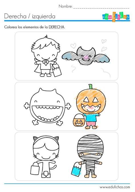 imagenes educativas lateralidad 29 best images about fichas infantiles coloreadas on pinterest