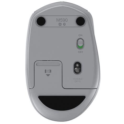 Diskon Logitech M590 Silent Bluetooth Mouse logitech wireless mouse m590 multi device silent gris