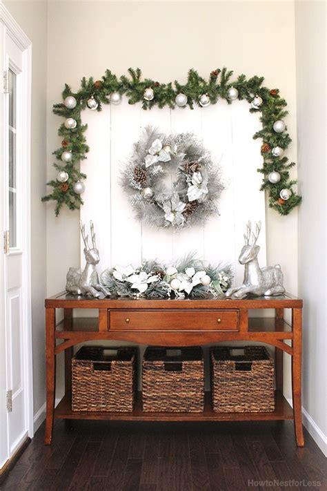 christmas foyer  home   nest