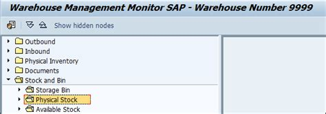 sap wm tutorial pdf physical inventory process in sap wm