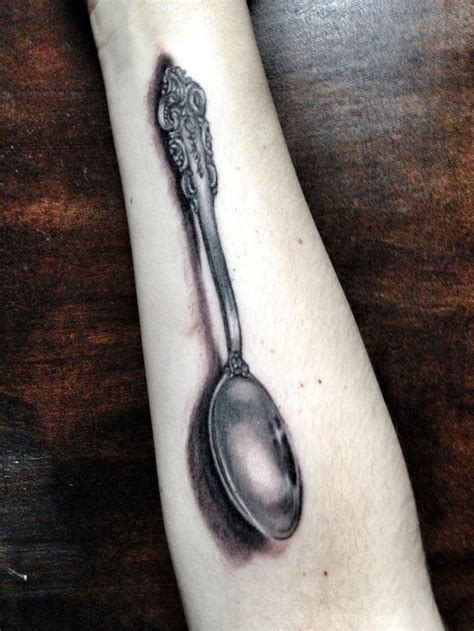 zeplace tattoo quebec spoons tattoos and body art and antiques on pinterest