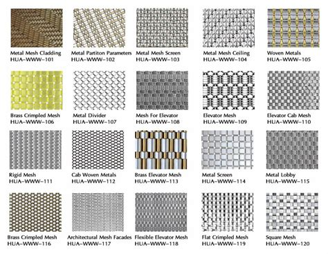 decorative wire mesh for woven wire mesh introduction thai hua wire mesh co ltd
