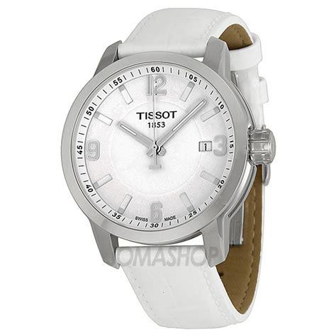 Tissot Prc200 Silver White tissot prc 200 quartz silver white leather sport s t0554101601700 jomashop