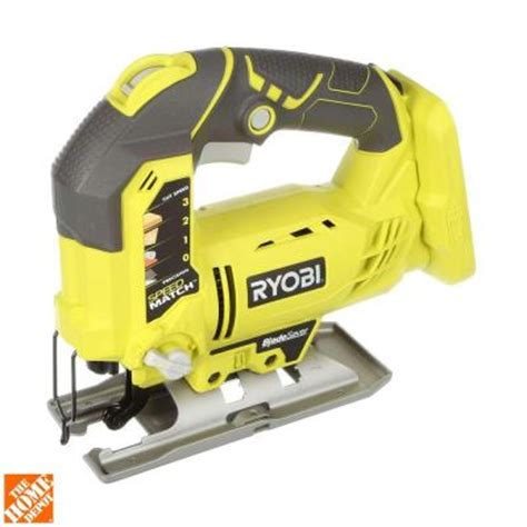 ryobi 18 volt one orbital jig saw tool only p523 the