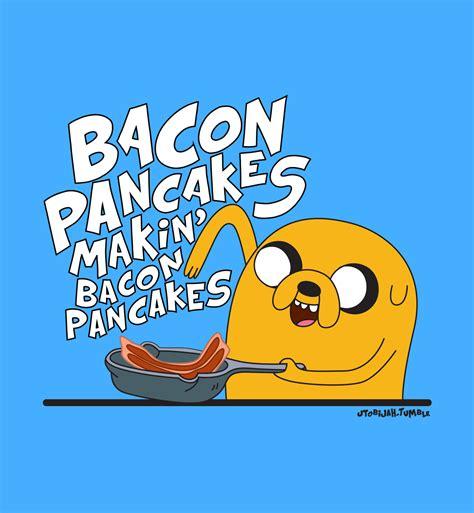 Kaos Adventure Time Bacon Pancakes bacon pancakes paleo gluten free tony fed
