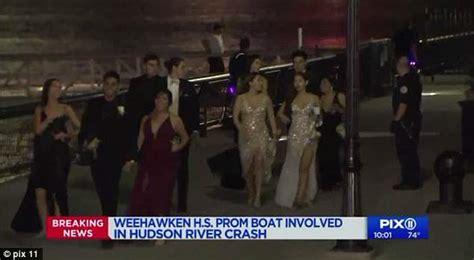 boat crash prom party boat carrying dozens of prom attendees crashes into
