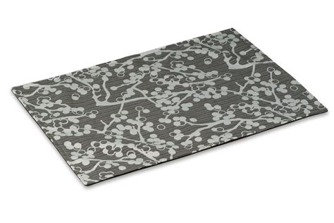 Mess Mat by Crypton Mess Mat Cherries Charcoal