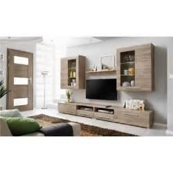 meuble tv bois clair pas cher