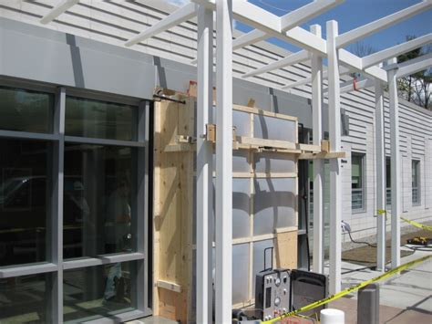 sloped curtain wall testing glazing in the field specifying procedures now