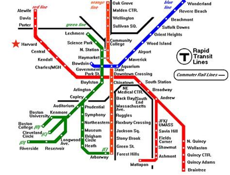 boston map with t stops designing industrial watersheds