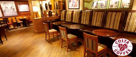 Costa Coffee Interior Design by Interior Shopfitter