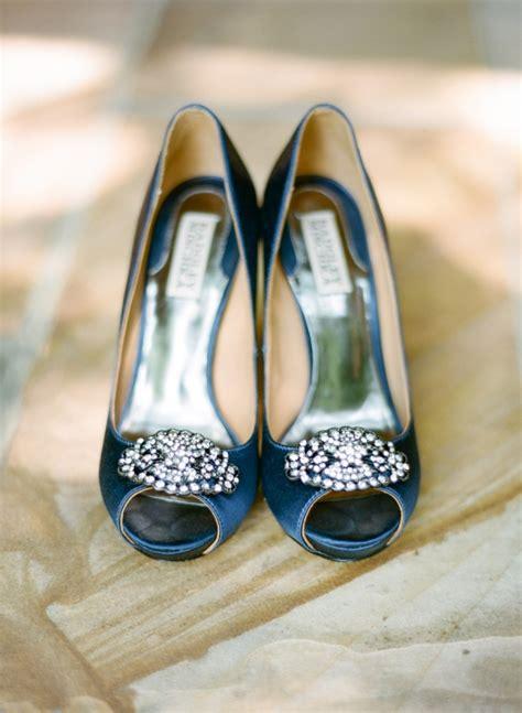 Blue Satin Wedding Shoes by Blue Satin Bridal Shoes Elizabeth Designs The