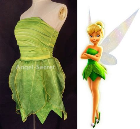 Tinkerbell Dresser by P356 Tinkerbell Costume Leafy Print Dress