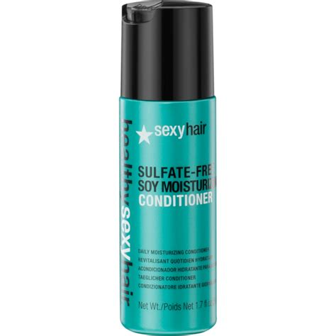 best conditioner for 50 hair sexy hair healthy soy moisturizing conditioner 50 ml