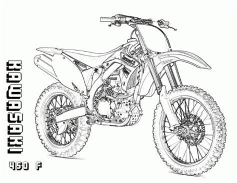 Dirt Bike Free Printable Coloring Sheets Coloringpages4kidz Com Dirt Bike Pictures To Color
