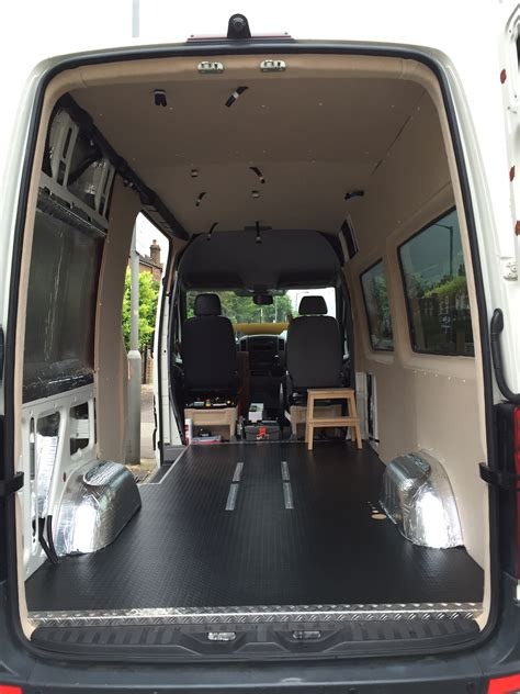 Build Your Floor Plan by Self Build Motorhome Conversion Of Our Volkswagen Crafter