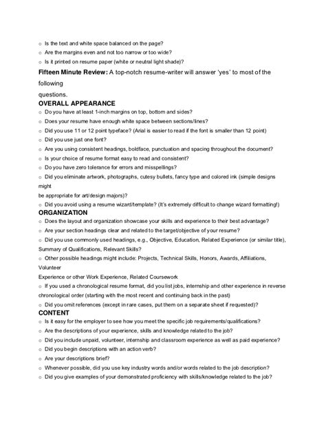 cover letter and resume margins resume aesthetics font margins and resume page layout