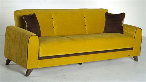 yellow sofa bed articles with yellow leather sofa bed tag