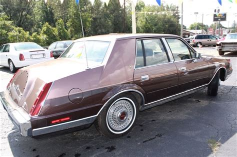 1987 lincoln continental lincoln continental 1987 www imgkid the image kid