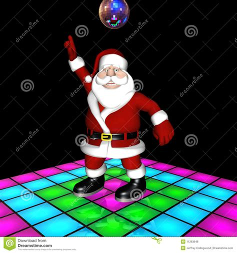 Nightclub Floor Plans santa disco dancing stock illustration image of