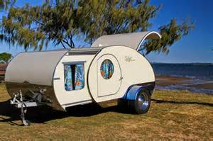 Gidget Retro Teardrop Camper by Tiny Yellow Teardrop Featured Teardrop The Gidget Retro