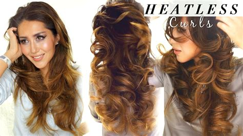heatless hairstyles medium hair how to heatless curls overnight short hairstyle 2013