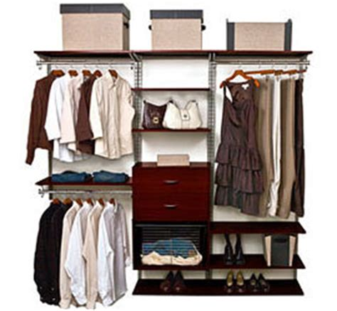 Schulte Closet by Schulte Freedomrail Closets Freedomrail Closet Kit