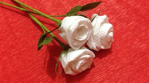 Make Roses Out Of Tissue Paper - how to make tissue paper flowers flower of