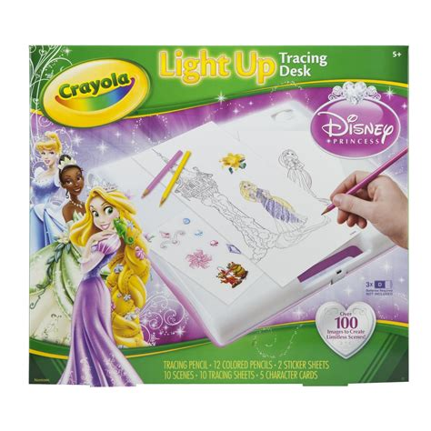 light up tracing desk crayola princess light up tracing desk gift ideas