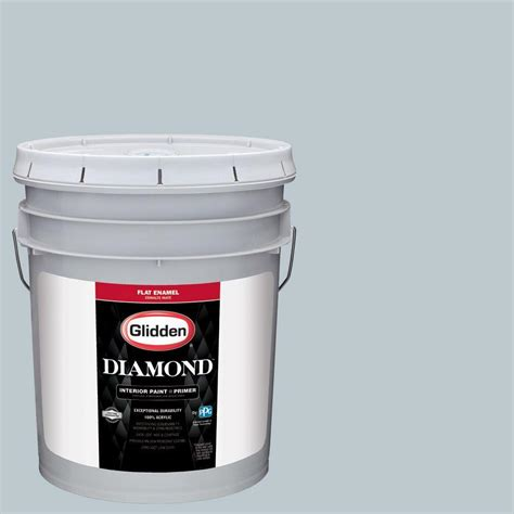 glidden duo 1 gal gln51 01f antique silver flat interior paint with primer gln51 01f the