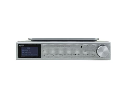 kitchen under cabinet radio cd player soundmaster eliteline ur2195si under cabinet bluetooth cd