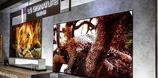 Image result for Largest OLED TV 2020. Size: 324 x 160. Source: www.somagnews.com
