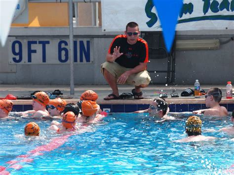 swimming couch coaches corner taunton tiger sharks southeastern