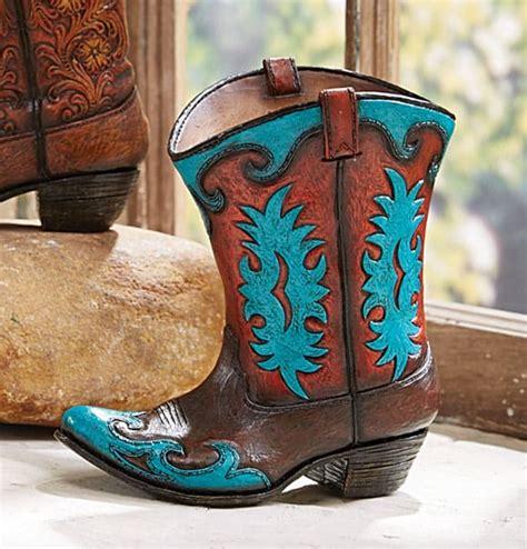 ceramic boot vase cowboy boot planters magazine