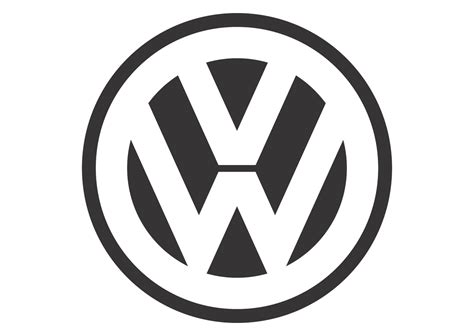 logo black and white vector volkswagen black white mode logo vector vector logo
