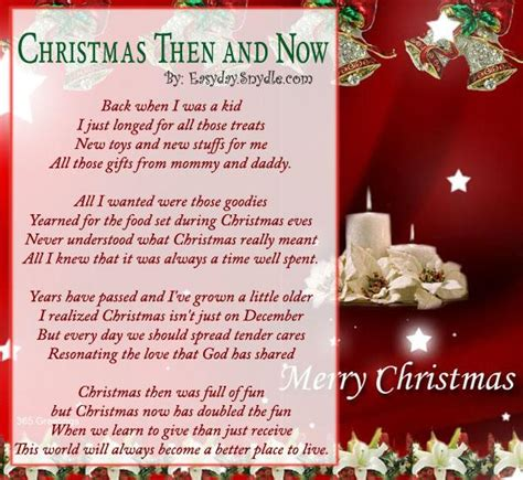 the best christmas gift poem poems easyday