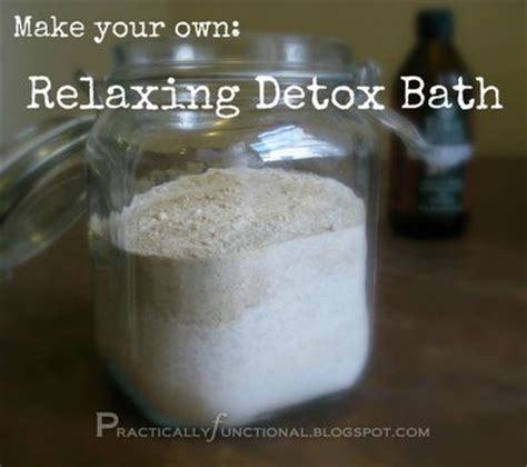Sea Salt Detox Bath Recipe by Detox Bath For Toxin Buildup And Sore Muscles Fabulous