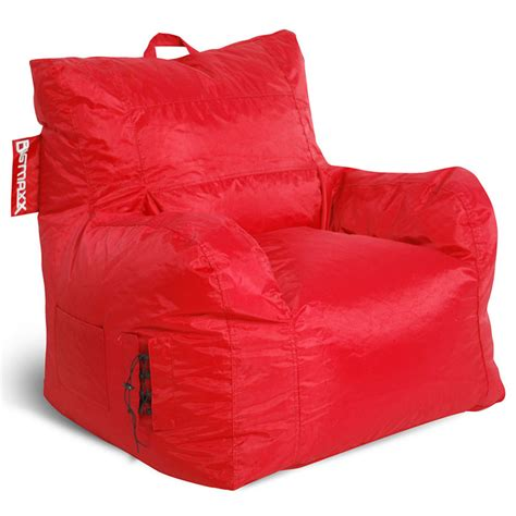 armchair bean bags big maxx kids bean bag armchair red dcg stores