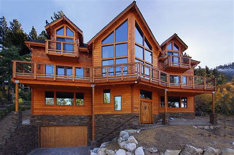 lake tahoe wood homes luxury vacation home 187 south lake