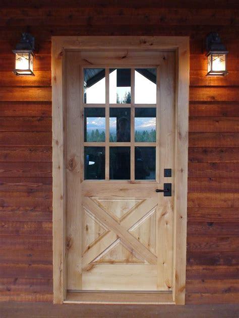 Barn Door Front Door Interior Exterior Solid Wood Doors In Washington Montana Ca Exterior Doors Custom Designs