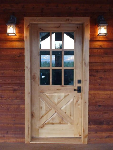 barn style front door interior exterior solid wood doors in washington