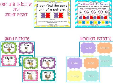 Kindergarten Pattern Unit | adventures in kindergarten gigantic patterns unit