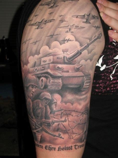 german tank tattoo tattoo inspiration pinterest tanks