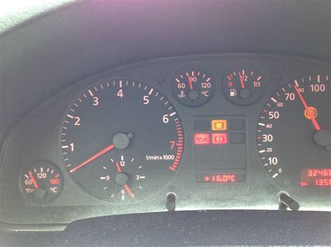 audi a6 dashboard warning lights electrical audi a6 2 4l 99 randomly sets brake