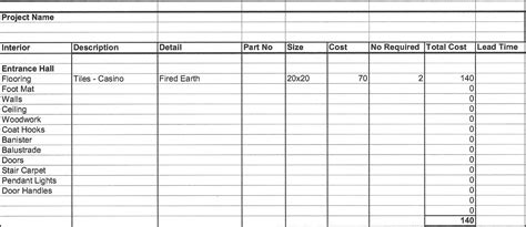 cost sheet format in excel aiyin template source