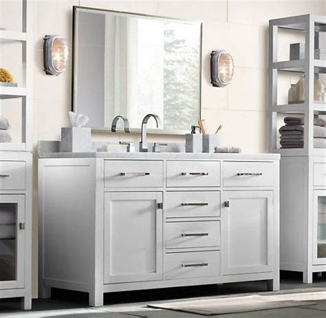 bathroom vanity hardware 7 best images about restoration hardware style bathroom vanities on pinterest for