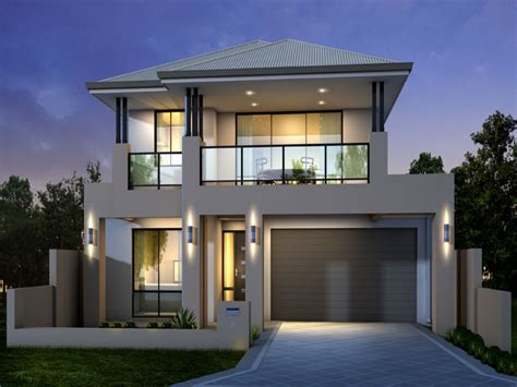 modern two story house simple modern double storey house plans escortsea