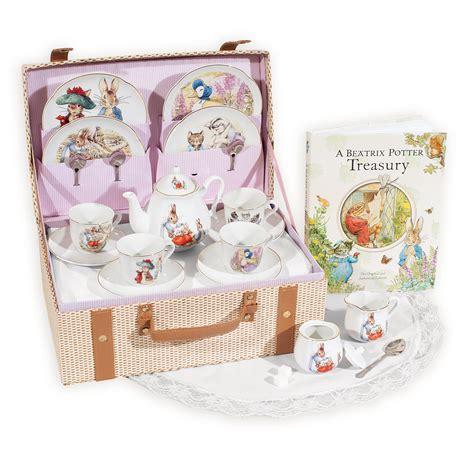Beatrix potter porcelain tea set beatrix potter treasury book